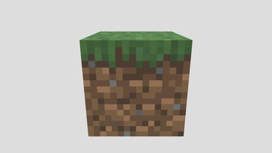 minecraft grass block - download free 3d model s3r84n s3r84n 6fd5c3e minecraft grass block - download free 3d model s3r84n s3r84n 6fd5c3e