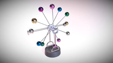 newton pendulum rotating colored eternal balls - buy royalty free 3d model omg3d omg3d 0e140aa highly detailed newton&rsquo s pendulum creative rotating eternal ball pbr 3d model info 7 objects system units - cm scale all details 100 100 100 model has real-world scale centered 0 0 0 gameready use unity engine ue other - newton pendulum rotating colored eternal balls - buy royalty free 3d model omg3d omg3d 0e140aa