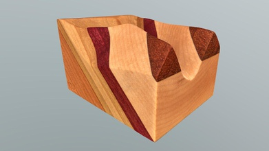 no 88a - geologic rule v s model - download free 3d model phaneritic phaneritic caec029 geologic rule v s model strata steeply dipping down valley part four-piece teaching set highlighting rule vs relationships created dipping planes interacting topography small block features stratified sequence cherry three layers green poplar purpleheart maple dipping steeply down narrow valley wood model kurtis c burmeister etsy com shop strainshadowdesigns instagramcom strainshadowdesigns twittercom strainshadow photogrammetric model ryan j hollister - no 88a - geologic rule v s model - download free 3d model phaneritic phaneritic caec029