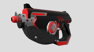 overwatch tracer's gun black red - download free 3d model rafa fernandez rafafb 9e7a221 overwatch tracer's gun black red - download free 3d model rafa fernandez rafafb 9e7a221