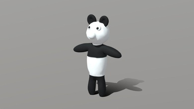 panda teddy bear - download free 3d model mckai mckai 425b0c6 just cute teddy bear sculpted blender has basic rig if you want put into game some weird animation program probably helps if you want pose him room somewhere well feel free do whatever him might make few more version various uv&rsquo s textures just realised forgot tail update get some spare time - panda teddy bear - download free 3d model mckai mckai 425b0c6