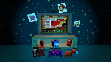 paper mario room - 3d model cesarrgomeza cesarrgomeza 418530b my first render my first published project can you give me your opinion am still studying practicing one day able work animation company created project able remember those days spent hours playing beautiful game - paper mario room - 3d model cesarrgomeza cesarrgomeza 418530b