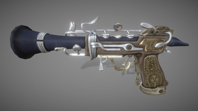 polypus mortem - clarinet pistol rigged - download free 3d model ben l ben l 5ea04fa made model college assignment weapon modeled autodesk maya textured substance painter more information concept art my behance page https wwwbehancenet gallery 97667469 polypus-mortem-clarinet-pistol - polypus mortem - clarinet pistol rigged - download free 3d model ben l ben l 5ea04fa