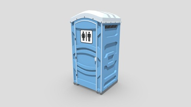portable toilet - buy royalty free 3d model pickle55100 pickle55100 226196e low poly portable toilet object created using blender object has key parts you would find real-world object such supports elevate object allow easy transportation bolts hold everything together air vents top object made using metalness workflow pbr textures features object uses metalness workflow 4k pbr textures png format object has been manually uv unwrapped match its pbr textures blend file includes pre-applied textures cameras lighting setups object has been exported 4 file formats fbx obj gltf glb dae collada files have been archived easy follow hierarchy images were rendered using cycles engine included textures ao diffuse roughness gloss metallic normal uvlayout source file uploaded demonstration use uploaded fbx format additional file you find all model exports textures go along them - portable toilet - buy royalty free 3d model pickle55100 pickle55100 226196e