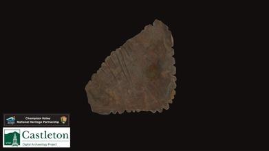 cerámica peine sello montón 1 493b 3d modelo Castleton Universidad digital arqueología proyecto cudap 2bb55f2 cerámica peine sello montón 1 493b 3d modelo Castleton