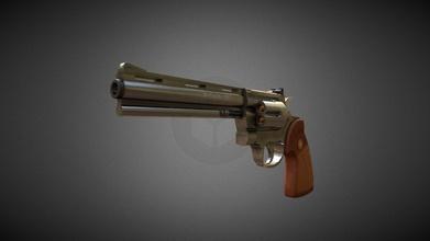 python 357 magnum gun - 3d model suhedabakann suhedabakann 185f25b python 357 magnum gun - 3d model suhedabakann suhedabakann 185f25b