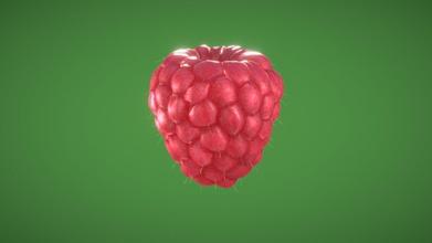 raspberry - download free 3d model rodrigo gelmi rodrigogelmi 0033322 3d model raspberry created modo 3d - raspberry - download free 3d model rodrigo gelmi rodrigogelmi 0033322