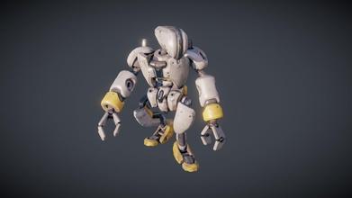 robot - game character - 3d model lorenzo drago lorenzodrago 1e025b0 robot - game character - 3d model lorenzo drago lorenzodrago 1e025b0