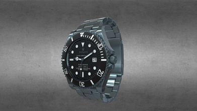 rolex submariner date bleck - buy royalty free 3d model ar-watches ar-watches 5271988 awesome stainless steel rolex submariner date bleck watch use unreal engine 4 unity3d try augmented reality ar-watches app links app android ios currently available download fbx format 3d model developed ar-watches disclaimer we do not own design watch we only made 3d model - rolex submariner date bleck - buy royalty free 3d model ar-watches ar-watches 5271988