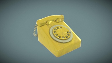 rotary phone - 3d model joanne broderick joannebroderick c15c12d rotary phone - 3d model joanne broderick joannebroderick c15c12d