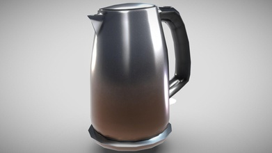 russell hobbs kettle - pbr low-poly 3d model - buy royalty free 3d model patrickzhiaran patrickzhiaran ba5f77a 3d model suitable game asset vr ar ready pbr workflow also suitable realistic renders model contains zip file - 3 versions every file format beveled - suitable subdivision smooth shading unbeveled - intended background object unsuitable subdiv smooth shading but smaller amount vertices subdivided - subdivided advance - tailored textures multiple resolutions like 2k 4k pbr metalness workflow such diffuse metallic roughness if your software uses glossiness simply invert rgh map normal - both opengl directx normal maps - additional preview scene camera lights background - all model versions also have uv unwrapping appropriate pivot origin points formats 1 fbx 2 obj 3 dae 4 blend scale real world - metric dimension cm 257cm x 18cm x 297cm 10 x 7 x 117&rsquo &lsquo model parts 1 geometry all quads few appropriate triangles - russell hobbs kettle - pbr low-poly 3d model - buy royalty free 3d model patrickzhiaran patrickzhiaran ba5f77a
