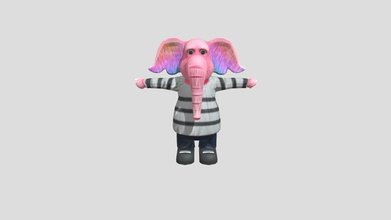sarik character pink - 3d model creativeavl creativeavl ffd562c high quality low poly model sarik character pink sarik character pink purple perfect your game cartoon any other project originally modelled maya mecanim ready ik system rig all humanoid mecanim animation supported 3d model made care detail every particular based real-world objects - sarik character pink - 3d model creativeavl creativeavl ffd562c