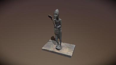 scan 3d statuette africaine - 3d model lucas ninard afroworms aa55097 mod le captur avec un smartphone samsung s8 112 photos 4k reconstruite avec agisoft metashape corrig e avec 3ds max optimis e avec zbrush - scan 3d statuette africaine - 3d model lucas ninard afroworms aa55097