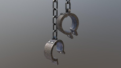 shackles - buy royalty free 3d model laurie annis laurieannis 6ae1c7e low poly shackles stake - shackles - buy royalty free 3d model laurie annis laurieannis 6ae1c7e