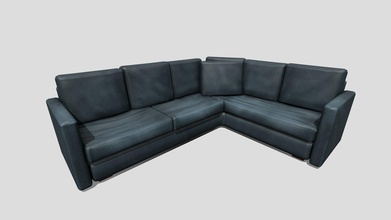 simple couch - 3d model epad117 epad117 7294446 couch asset used project tiger - simple couch - 3d model epad117 epad117 7294446