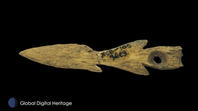 small bone harpoon xcb-105-3613 - download free 3d model global digital heritage globaldigitalheritage 6f1ea29 small bone harpoon xcb-105-3613 400 bce-100 ce xcb-105 adamagan aleut place walrus hunters head morzhovoi bay western alaska peninsula massive village multiple occupations occupied 400 bce-100 ce largest village arctic estimated 1000 people also has limited occupations dated 2200-1700 bce 1000-600 bce 900-1100 ce western alaska peninsula artifacts presented result research conducted under grants nsf 9630072 nsf 9814086 nsf 9996372 nsf 9996415 nsf 1139266 nsf 1321411 h maschner principal investigator these artifacts were scanned either faro edge arm minolta vivid 9i processed geomagic polyworks 2-8 photos were used texture geomagic wrap original digitizing work done ivl id st univ subsequent processing publication completed global digital heritage - small bone harpoon xcb-105-3613 - download free 3d model global digital heritage globaldigitalheritage 6f1ea29