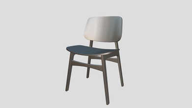 soborg chair - download free 3d model jacob yashwiebe1 30ef648 chair made blender uv unwrapped ready have texture put it also still has subdivision surface modifier enabled so subdivisions can still changed - soborg chair - download free 3d model jacob yashwiebe1 30ef648