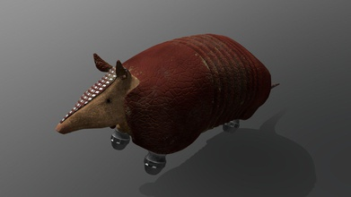 space armadillo animated - 3d model noah goyette noah goyette e10ea02 cyborg armadillo designed class project we were required make game unity armadillo intended hover its rocket powered legs also rigged animated armadillo modeled textured animated did level design game see more game visit here https kevinleitchio some-planet - space armadillo animated - 3d model noah goyette noah goyette e10ea02