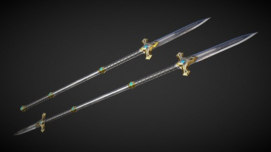 spear glaive a06 - buy royalty free 3d model don falcone don falcone 7843861 spear glaive a06 - buy royalty free 3d model don falcone don falcone 7843861