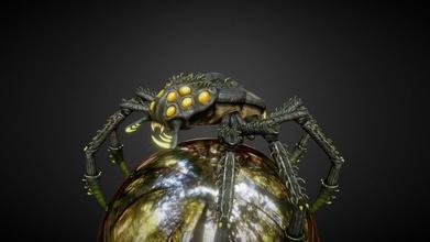 aranha criatura rastejante Arach Comprar realeza livre 3d modelo Greg cadernos Gregkdev 7ae9a35 aranha criatura rastejante Arach Comprar realeza livre 3d modelo