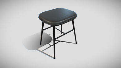 spine metal base stool-model 1938 v-01 - buy royalty free 3d model sr surajrai18sr 61cda80 stool 3d model ready virtualreality vr augmented reality ar games other render enginesthis lowpoly 3d model stool equipped 4k resolution texturesthe pbr maps includes- albedo roughness metallic normal - spine metal base stool-model 1938 v-01 - buy royalty free 3d model sr surajrai18sr 61cda80