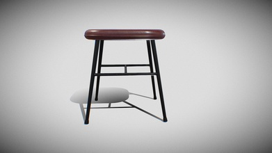 spine metal base stool-model 1938 v-02 - buy royalty free 3d model sr surajrai18sr ba90672 stool 3d model ready virtualreality vr augmented reality ar games other render enginesthis lowpoly 3d model stool equipped 4k resolution texturesthe pbr maps includes- albedo roughness metallic normal - spine metal base stool-model 1938 v-02 - buy royalty free 3d model sr surajrai18sr ba90672