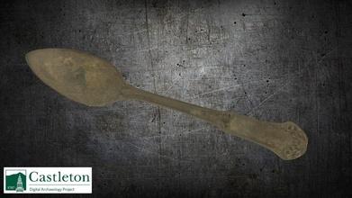 cuchara 3d modelo Castleton Universidad digital arqueología proyecto cudap d8f1025 cuchara 3d modelo Castleton Universidad digital arqueología proyecto cudap d8f1025