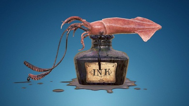 squid ink bottle - buy royalty free 3d model polygon juggler polygon juggler df4068d 69k quads + 251 tris 14k converted tris 4k maps so please wait until they load completely sketchfabcom blogs community art-spotlight-squid-ink-bottle personal project made just fun modeling made 3ds max texturing baking made substance painter ink sculpted zbrush 2 texture sets materials one squid another bottle floor ink drop - squid ink bottle - buy royalty free 3d model polygon juggler polygon juggler df4068d