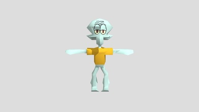 squidward - download free 3d model billy billy ecc30a5 squidward - download free 3d model billy billy ecc30a5