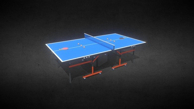 table tennis set - buy royalty free 3d model game art universe game art 9e5a33c 9 feet long 5 feet wide table tennis set which includes table net racket ball complete set has 3 models - table racket ball total 4 materials used one table one net one racket one ball poly-count kept low possible all textures very high quality 2k resolution all polygons quads no tris n-gons used geometry during production ready used virtual reality vr augmented reality ar games other real-time apps key features minimum possible poly-counts 4 mesh 4 materials real world scale only quads no tris n-gons non-overlapping unwrapped uvs high quality 2k resolution textures model information vertices 11 577 faces 10 554 triangles 21 108 uv mapped yes non-overlapping textures base color metallic map roughness map specular map metallicsmoothness map specularsmoothness map ao map normal map - table tennis set - buy royalty free 3d model game art universe game art 9e5a33c
