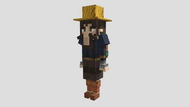 test npc 1 v 11 - 3d model liancos liancos 22a281d better version my previous model my first 3d project adding backpack better shoes create blockbench default ressource pack minecraft realise my minecraft server - test npc 1 v 11 - 3d model liancos liancos 22a281d