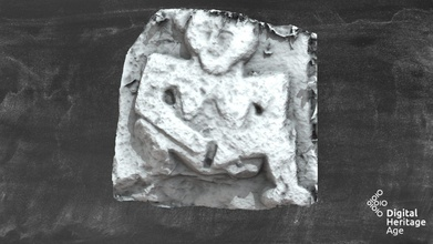 tn041-042005 - sheela-na-gig - thurles - 3d model dh age sheela-na-gig3d project dh age 30fd2d8 located section wall behind lyon&rsquo s tyre batteries centre thurles town carving located top wall appears have been inserted later date according os letters w gate town known locally &lsquo geata na gcoileach&rsquo gate old woman carving old woman chiselled stone one its sides o&rsquo flanagan 1930 vol 3 7-8  has been suggested reference sheela-na-gig figure consists woman carved relief pear-shaped head almond-shaped recessed eyes small nose horizontal mouth square body sagging breasts splayed legs arms pulling vulva apart has pronounced jug-shaped ears lower leg dexter side missing while sinister side terminates foot positioned side-ways pronounced heel foot - tn041-042005 - sheela-na-gig - thurles - 3d model dh age sheela-na-gig3d project dh age 30fd2d8