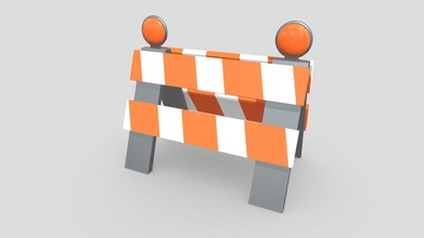 traffic barrier - buy royalty free 3d model pickle55100 pickle55100 abdd845 traffic barrier created using blender simple low poly traffic barrier can used things such construction scenes background props animations game development model has simple design signs represent caution each side reflectors top object made using metalness workflow uses pbr textures features object uses low poly simple design object uses metalness workflow 2k pbr textures png format object has been manually uv unwrapped match its pbr textures blend file includes pre-applied textures lighting camera setups object has been exported 4 file formats fbx obj gltf glb dae collada included textures ao diffuse roughness gloss uvlayout source file uploaded demonstration use uploaded fbx format additional file you find all model exports textures go along them - traffic barrier - buy royalty free 3d model pickle55100 pickle55100 abdd845