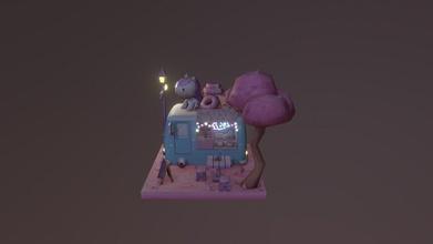 unicorn van night time - 3d model sbj rin sbj rin 12ef1e4 unicorn van night time - 3d model sbj rin sbj rin 12ef1e4