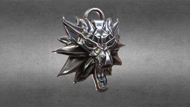 witcher amulet - buy royalty free 3d model sp 3d sp 3d aa3dbcb model modeled blender - all scene included blend files - preview image rendered using cycles - units used centimeters - only quads polygons - blender models grouped easy selection objects logically named ease scene management - no special plugin needed open scene - rendered preview images have not been post processed - no cleaning up necessary just drop your models into scene start rendering all textures 4096x 4096png base color normalopengl metallic roughness - witcher amulet - buy royalty free 3d model sp 3d sp 3d aa3dbcb