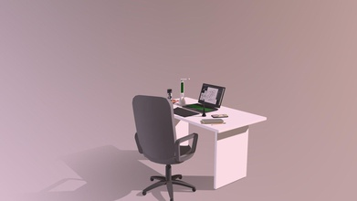 workspace - download free 3d model hawokaii hawokaii 43d3e7a first attempt 3d recreated my workspace using maya - workspace - download free 3d model hawokaii hawokaii 43d3e7a
