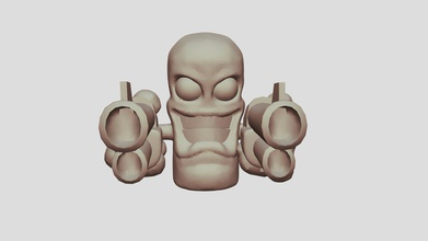 worm duel wielding - download free 3d model thomas mason thomasmason b53dba7 duel wielding worms character ready print so all you worms fans get yours now - worm duel wielding - download free 3d model thomas mason thomasmason b53dba7