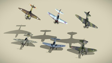 ww2 bombers lowpoly set 3+3 - buy royalty free 3d model netrunner pl netrunner pl c3335e9 ww2 bombers lowpoly set 3+3 - buy royalty free 3d model netrunner pl netrunner pl c3335e9