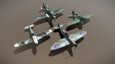 ww2 fighters spirtfire bf-109 mustang i-16 - buy royalty free 3d model netrunner pl netrunner pl c60e7b2 set 3 world war 2 fighters polikarpov i-16 russian single seat fighter called donkey because its fuselage shape messerschmitt bf-109 german fighter which one most advanced planes begining war supermarine spitfire one best ww2 fighters originated uk p-51d mustang american fighter 1940 dismissed duty 1986 - ww2 fighters spirtfire bf-109 mustang i-16 - buy royalty free 3d model netrunner pl netrunner pl c60e7b2