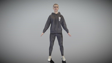 young woman black hoodie a-pose 291 - buy royalty free 3d model deep3dstudio deep3dstudio f66f10c young woman black hoodie a-pose 291 - buy royalty free 3d model deep3dstudio deep3dstudio f66f10c