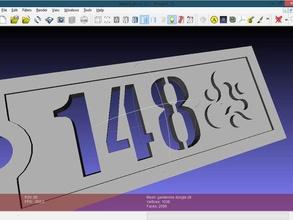stencil font writescad other writescad scad font stencil