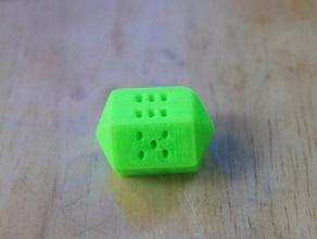 unorthodox die other fun games dice featured hexagon