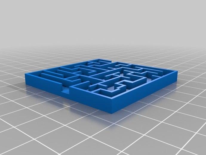 maze 2d art customized
