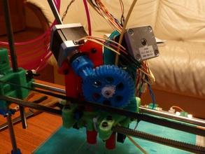 action jims flying motor mount dual extruder 3d printer extruders mendel openscad printrbot prusa upgrade
