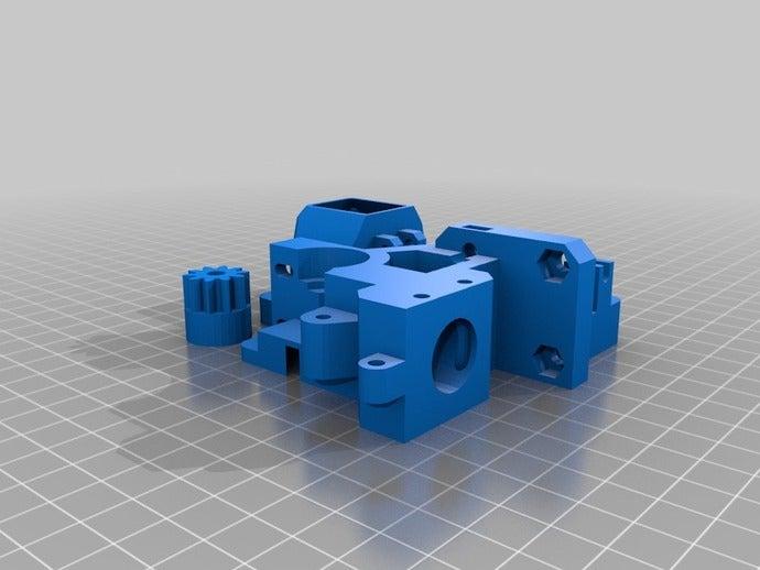 prusa i3 rework build tra