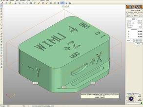 wimuv4 packagaing openscad parametric packaging script v2 electronics inertial measurement unit tyndall useful wearable wireless