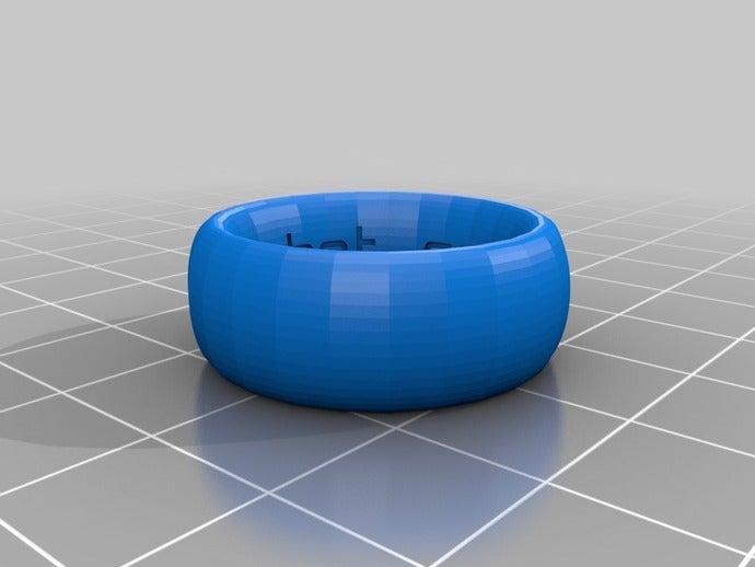 my customized ring band c