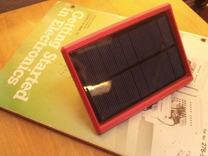 radio shack 6v solar pane