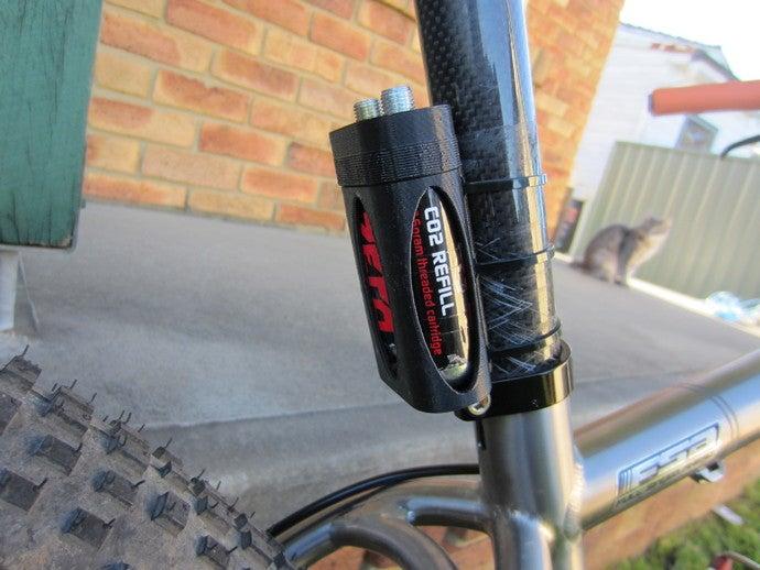 co2 cartridge holder bike