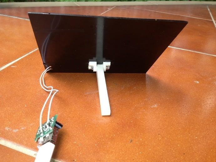 mini solar charger adjust